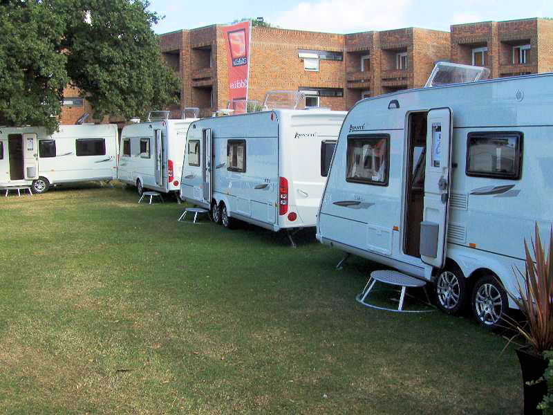 Explorer Group at 2007 HERCMA Lawns Caravan Show