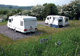 Bakewell Camping and Caravanning Club Site caravan