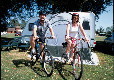 St Neots Camping and Caravanning Club Site caravan