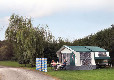 Devizes Camping and Caravanning Club Site caravan