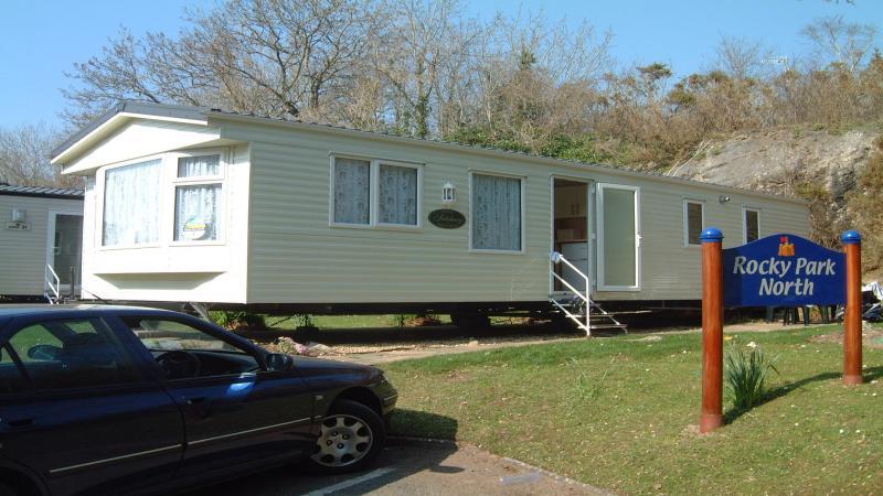 Simple Static Caravan Holiday Hire At Kiln Park Tenby