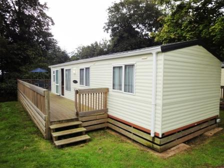 Simple  Static Caravan Holiday Hire At Golden Sands Dawlish Warren Devon