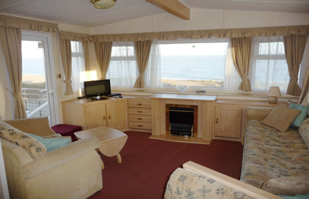 Amazing Dog Friendly Caravan For Hire At Looe Bay Holiday Park